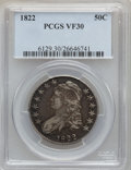 Bust Half Dollars: , 1822 50C VF30 PCGS. PCGS Population (35/700). NGC Census: (19/689).Mintage: 1,559,573. Numismedia Wsl. Price for problem f...