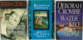 Books:Mystery & Detective Fiction, Deborah Crombie. SIGNED BOOKPLATE. Lot of Three Mysteries. [Various publishers, dates, editions]. One title with a bookpla... (Total: 3 Items)