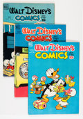 Golden Age (1938-1955):Cartoon Character, Walt Disney's Comics and Stories Group (Dell, 1949-61) Condition:Average FN.... (Total: 14 Comic Books)
