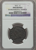 Large Cents: , 1812 1C Small Date -- Environmental Damage -- NGC Details. Fine.NGC Census: (5/144). PCGS Population (12/190). Mintage: 1,...
