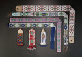 American Indian Art:Beadwork and Quillwork, SEVEN SIOUX LOOM-BEADED ITEMS. c. 1910 - 1930... (Total: 7 Items)