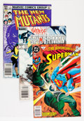 Modern Age (1980-Present):Superhero, DC/Marvel Modern Age Comics Box Lot (DC/Marvel, 1980s-'90s)Condition: Average FN.... (Total: 2 Box Lots)