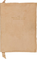 Miscellaneous:Ephemera, [Stephen F. Austin]. Three Manuscript Maps of Texas by StephenF. Austin With Biographical and Bibliographical Notes by ...