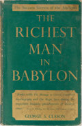Books:Business & Economics, George S. Clason. The Richest Man in Babylon. World's Work,1913. First edition. Price-clipped dust jacket. Jack...