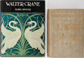Books:Children's Books, [Walter Crane, illustrator]. Lot of Two Titles Illustrated byWalter Crane. [Various publishers, dates, editions]. One quart...(Total: 2 Items)