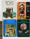 Books:Books about Books, [Toys]. Lot of Five Titles Related to Toys and Toy Collecting. [Various publishers, dates, editions, sizes]. Generally good ... (Total: 5 Items)