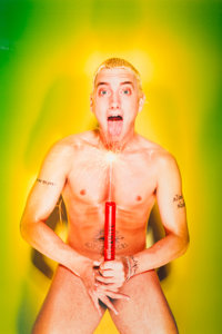 DAVID LACHAPELLE (American, b. 1964) Eminem: About to Blow, 1999 Chromogenic, 2000 60 x 43 inches