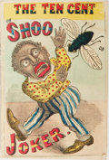 "Books:Americana & American History, [Humor]. The Ten Cent ""Shoo Fly"" Joker [No. 2]. De Witt,1869. Sixteenmo. Original printed wrappers, with front ..."