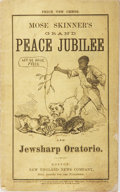 Books:Americana & American History, [Satire]. [James E. Brown]. Our Great Peace Festival andPow-Wow... Richardson, 1869. First edition. Small octavo pa...