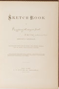 Books:Literature Pre-1900, [Washington Irving]. Sketch Book of Geoffrey Crayon, Gent.Putnam, 1864. The rare and beautiful Artist's Editi...