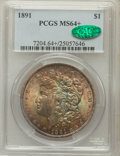 Morgan Dollars: , 1891 $1 MS64+ PCGS. CAC. PCGS Population (1689/119). NGC Census:(1149/127). Mintage: 8,694,206. Numismedia Wsl. Price for ...