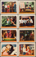 """Movie Posters:Crime, The FBI Story (Warner Brothers, 1959). Lobby Card Set of 8 (11"""" X14""""). Crime.. ... (Total: 8 Items)"""