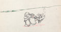 Animation Art:Production Drawing, Hawaiian Holiday Goofy Production Drawing Group (WaltDisney, 1937)....