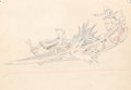 Animation Art:Production Drawing, Moose Hunters Production Drawing Group (Walt Disney,1937).... (Total: 3 Original Art)