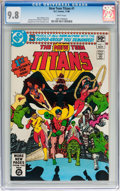 Modern Age (1980-Present):Superhero, New Teen Titans #1 (DC, 1980) CGC NM/MT 9.8 White pages....