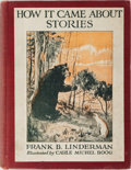 Books:Children's Books, Frank B. Linderman. SIGNED. How It Came About Stories.Scribner's, 1921. First edition. Signed by the author on th...