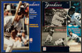 Baseball Collectibles:Publications, 1987 and 1990 New York Yankees Team Signed Yearbooks Lot of 2....