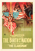 "Movie Posters:Drama, The Birth of a Nation (Epoch Producing,1915). One Sheet (28"" X 41"").. ..."