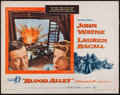 """Movie Posters:Action, Blood Alley (Warner Brothers, 1955). Half Sheet (22"""" X 28"""").Action.. ..."""
