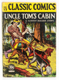 Golden Age (1938-1955):Classics Illustrated, Classic Comics #15 Uncle Tom's Cabin - First Edition (Gilberton,1943) Condition: VG-....