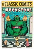 Golden Age (1938-1955):Classics Illustrated, Classic Comics #30 The Moonstone - First Edition - DoubleCover(Gilberton, 1946) Condition: VG+....