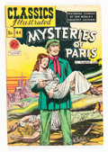 Golden Age (1938-1955):Classics Illustrated, Classics Illustrated #44 Mysteries of Paris - First Edition(Gilberton, 1947) Condition: VG....