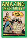 Golden Age (1938-1955):Horror, Amazing Mysteries #33 (Marvel, 1949) Condition: VG+....