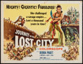 "Movie Posters:Adventure, Journey to the Lost City (American International, 1960). Half Sheet(22"" X 28""). Adventure.. ..."