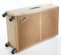 Musical Instruments:Amplifiers, PA, & Effects, Early 1960s Fender Blonde Speaker Cabinet. ...