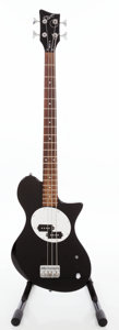 Musical Instruments:Bass Guitars, 2000s First Act ME114 Black Electric Bass Guitar....