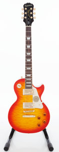 Musical Instruments:Electric Guitars, 2011 Epiphone Les Paul Ultra Faded Cherry Sunburst Solid BodyElectric Guitar, Serial # 11031506704.. ...