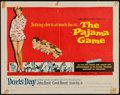 "Movie Posters:Comedy, The Pajama Game (Warner Brothers, 1957). Half Sheet (22"" X 28""). Comedy.. ..."