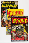 Golden Age (1938-1955):Horror, Comic Books - Assorted Golden Age Horror First Issues Group(Various Publishers, 1950s) Condition: Average GD/VG.... (Total: 4Comic Books)