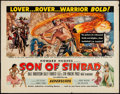 "Movie Posters:Fantasy, Son of Sinbad (RKO, 1955). Half Sheet (22"" X 28""). Fantasy.. ..."