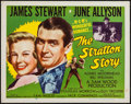 """Movie Posters:Sports, The Stratton Story (MGM, R-1956). Half Sheet (22"""" X 28""""). Sports.. ..."""