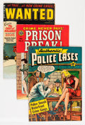 Golden Age (1938-1955):Crime, Comic Books - Assorted Pre-Code Crime Comics Group (Various Publishers, 1950s) Condition: Average VG.... (Total: 4 Comic Books)