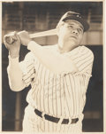 Autographs:Photos, 1948 Babe Ruth Photograph Signed One Month Before His Death....