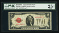 Small Size:Legal Tender Notes, Fr. 1502* $2 1928A Legal Tender Note. PMG Very Fine 25 Net.. ...