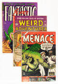 Golden Age (1938-1955):Horror, Comic Books - Assorted Pre-Code Horror Comics Group (VariousPublishers, 1950s) Condition: Average GD.... (Total: 9 Comic Books)