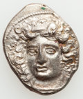 Ancients:Greek, Ancients:  THESSALY. Larissa. Ca. 380-365 BC. AR drachm (6.22gm)....