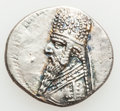 Ancients:Oriental, Ancients:  PARTHIAN KINGDOM. Mithradates II (121-91 BC). AR drachm (4.07 gm)....