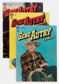Golden Age (1938-1955):Western, Gene Autry Comics Group (Dell, 1948-59) Condition: Average GD/VG.... (Total: 49 Comic Books)