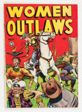 Golden Age (1938-1955):Crime, Women Outlaws #3 (Fox Features Syndicate, 1948) Condition: VG....