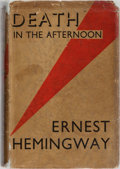 Books:Literature 1900-up, Ernest Hemingway. Death in the Afternoon. Jonathan Cape,1932. First British edition, first printing. Mild tonin...