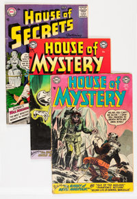 House of Mystery/House of Secrets Group (DC, 1954-60) Condition: Average VG-.... (Total: 30 Comic Books)
