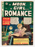 Golden Age (1938-1955):Romance, A Moon, A Girl...Romance #12 (EC, 1950) Condition: GD....