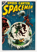Golden Age (1938-1955):Science Fiction, Spaceman #5 (Atlas, 1954) Condition: VG/FN....