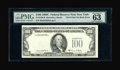 Error Notes:Third Printing on Reverse, Fr. 2166-B $100 1969C Federal Reserve Note. PMG Choice Uncirculated 63 EPQ....
