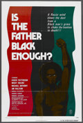 "Movie Posters:Blaxploitation, Is the Father Black Enough? (Howco, 1975). One Sheet (27"" X 41""). Also known as ""Night of the Strangler."" Blaxploitation. ..."