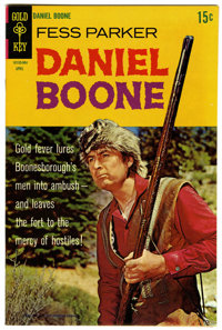 Daniel Boone #15 File Copy (Gold Key, 1969) Condition: NM-